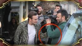 Mustafa Ceceli kameralara saldırdı!