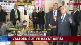 """Vali'den Osmanlıca """"Süt için"""""""