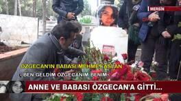 Özgecan'ın mezarına ziyaret...