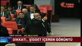Mecliste kan aktı!