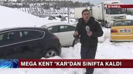 İstanbul kar sınavından geçemedi!