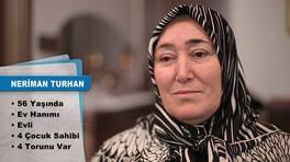 Evim Şahane Pazartesi günü, Beykoz'da yaşayan Neriman Turhan'ın salonunu yenileyecek
