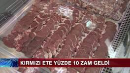 Kırmızı ete yüzde 10 zam!