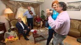 Furkan Bey'den müzikli karşılama!