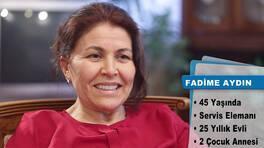 Evim Şahane Cuma günü, Sarıyer'de yaşayan Fadime Aydın'ın salonunu yenileyecek