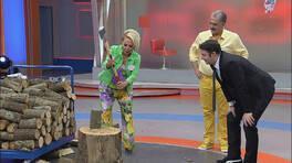Safiye Soyman Faik Bey'den önce odun kırdı!