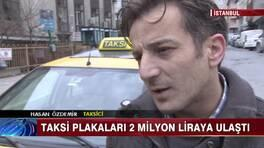 Taksi Plakaları 2 Milyon Liraya Ulaştı!