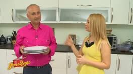 Gizem Hanım, mutfakta Ramadan Bey'i çekiştirdi!