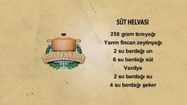 Süt Helvası - Süt Helvası Tarifi -  Süt Helvası Nasıl Yapılır?