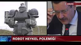 Robot heykel polemiği
