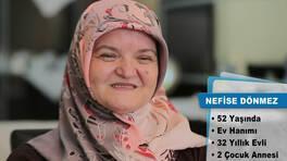 Evim Şahane Pazartesi günü, Kurtköy'de yaşayan Nefise Dönmez'in mutfağını yenileyecek