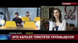Ofis kafeler Türkiye'de yaygınlaşıyor!
