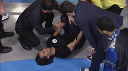 Çılgın Sedat fena düştü!