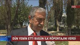 KKTCde Mustafa Akıncı görevine başladı!