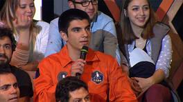 Türkiye'nin en genç astronotu Beyaz Show'daydı!