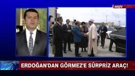 Erdoğan'dan Görmez'e sürpriz araç!