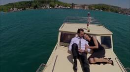 Engin ve Deniz arasında romantik anlar!