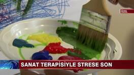 Sanat terapisiyle strese son!