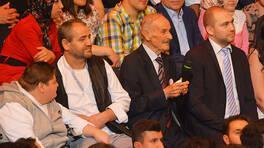 Çipetpet Arnavut Şevket enerjisiyle hayran bıraktı!