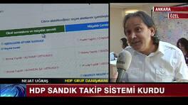 HDP'nin sandık takip sistemi