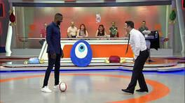 Pascal Nouma'dan İlker Ayrık'a futbol dersi!