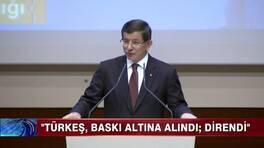 Davutoğlu'ndan Türkeş'e övgüler!