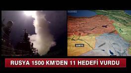 Rusya, Suriye'yi vurdu!