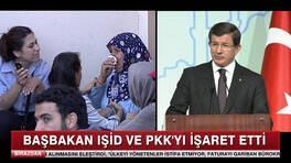Başbakan, IŞİD ve PKK'yı işaret etti!