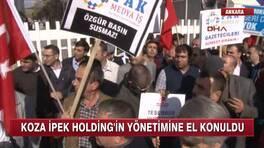 Koza İpek Holding yönetimine kayyum atandı!