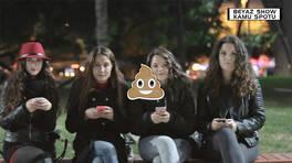 Beyaz Show Kamu Spotu:  Kızlarla mesajlaşmayı bırakma hattı!