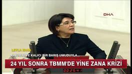 24 yıl sonra yine Zana krizi!