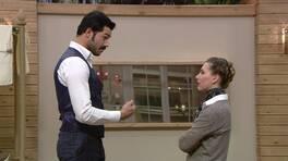 Serhan ve Daniela arasında tespih kavgası