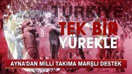 Milli Takım Marşı İlk Kez Kanal D Haber'de!