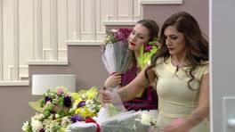 Ayça'ya bir araba dolusu çiçek!