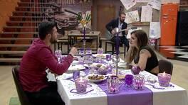 Ayça ve Emre'nin romantik ödül yemeğinden kareler!