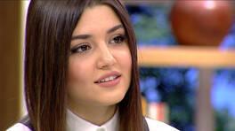 Hande Erçel'in aşka bakışı!