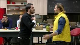 Ali ve Batuhan tartıştı! Ayça evi terketti!
