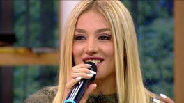 Güzel şarkıcı Suadiye sesi ile kızları büyüledi!