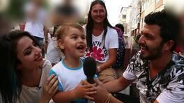 Nur ve Batu sokak röportajında!