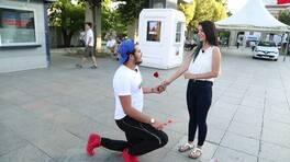 Batu, Nur'a evlenme teklifi ediyor!