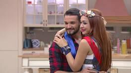 Gamze ve Şahin'in romantik dansı!