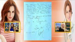 Deniz Seki, Renkli Sayfalar'a mektup gönderdi!