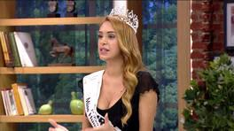 Miss Humanity 2016 Güzeli Tuğçe Ergişi Renkli Sayfalar'a konuk oldu!