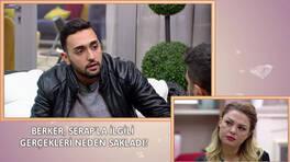 Berker, Serap'la sevgili olduğunu itiraf etti!