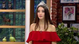 Best Model Ayşenur Çetin Çin'e gidemedi, Renkli Sayfalar'a geldi!