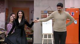 Çiftlerden romantik dans gösterisi!