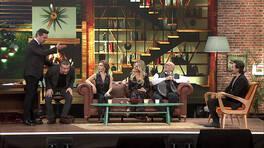 Beyaz ve Murat Cemcir'in komik koltuk şavaşı!