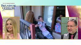 Engelli çifte Paylaşmak Güzeldir programından tekerlekli sandalye!