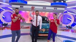 Arabayı kazanan çift: Ceyda ve Erkan Uyan!