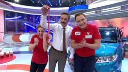 Arabayı kazanan çift: Tuğba ve Hamza Kara